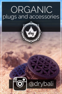 Wood plugs - click for Instagram