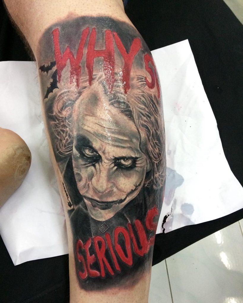 Joker Tattoo by Pank Tatz
