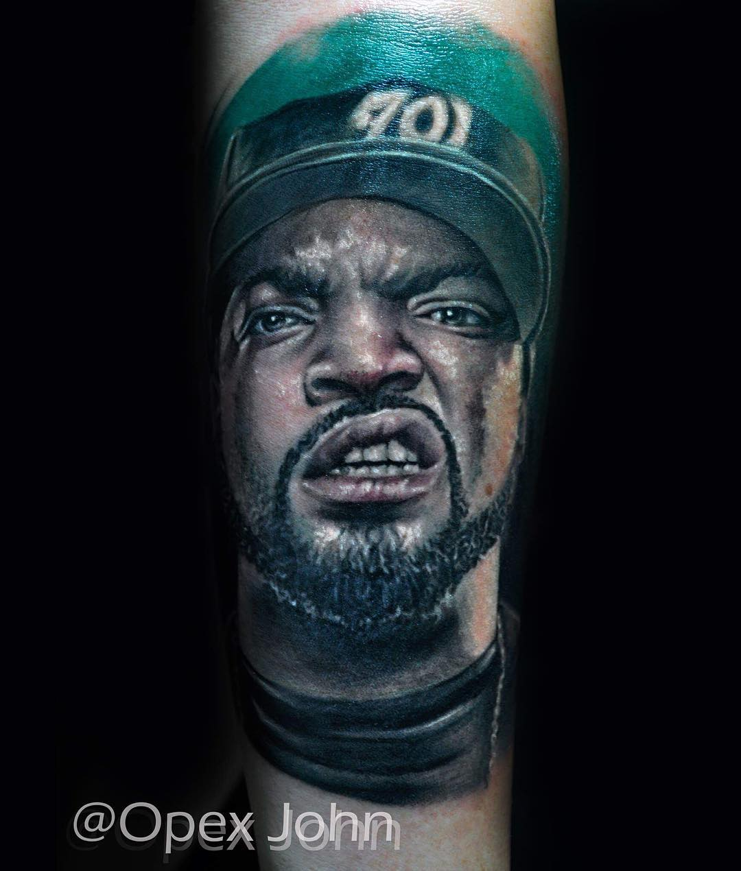 Jesus, Good 2Pac Tattoos and More from Portrait Tattoo Artists in ...