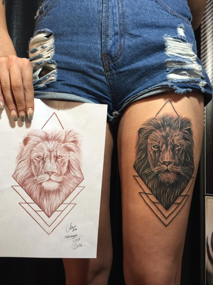 Lions and Tigers and Bears ⋆ TATTLAS Bali Tattoo Guide