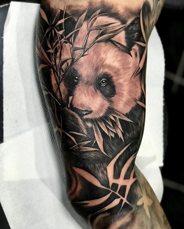 Panda Bear Tattoo - Tattoo Collections
