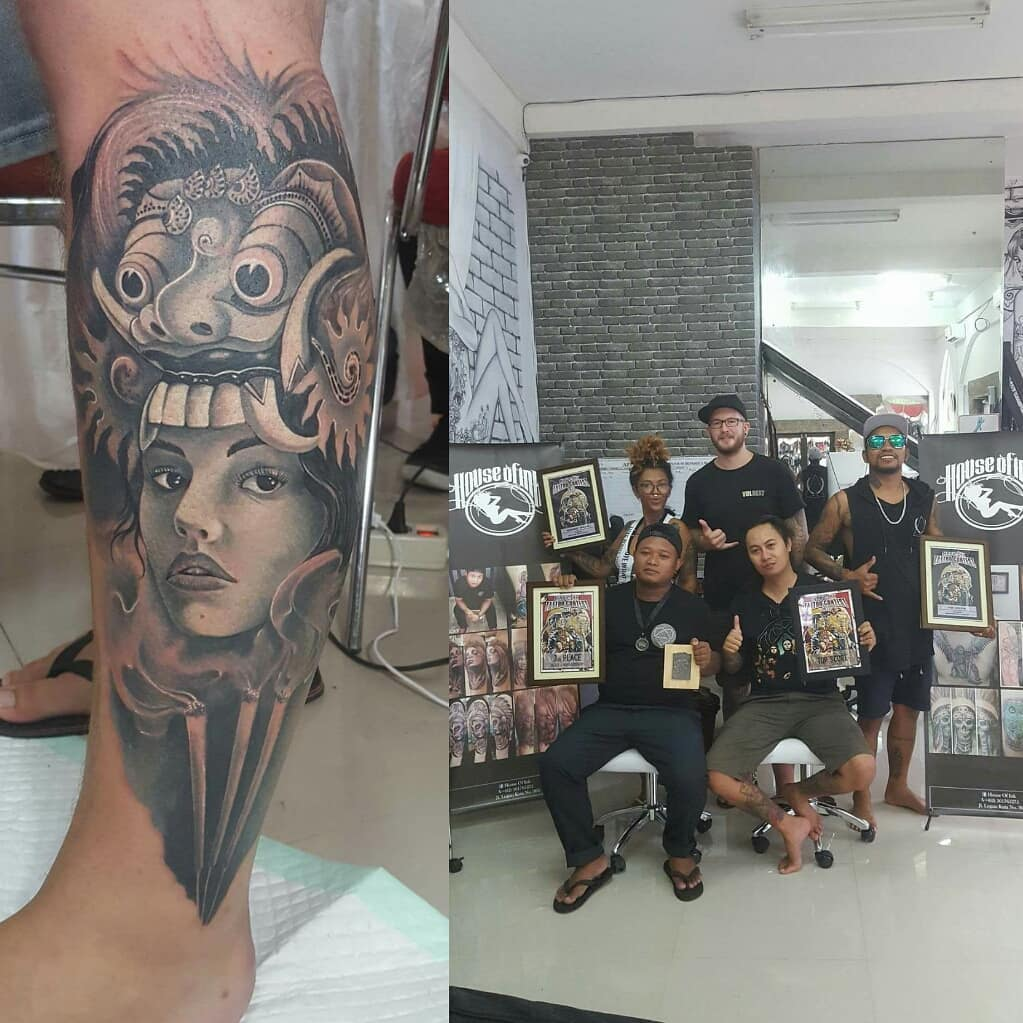 3rd place black and grey blacky house of ink