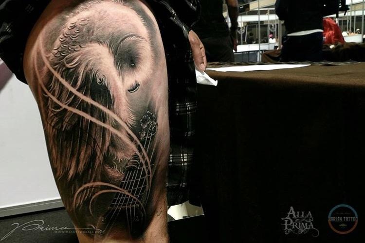 Thailand tattoo expo winner Sunday best tattoo