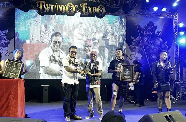 Thailand tattoo expo awards
