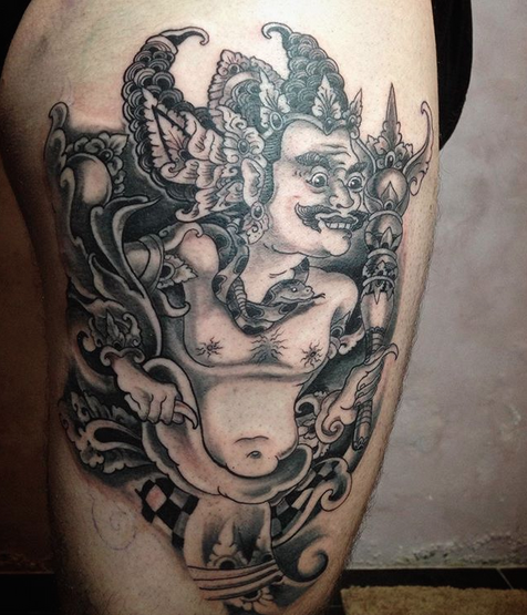 by Marmar Heryakuti - Hellmonk Tattoo