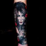 Portrait Tattoo by Ata Ink Bali