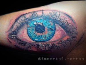 Blue Eye Tattoo by Aji Yujiro