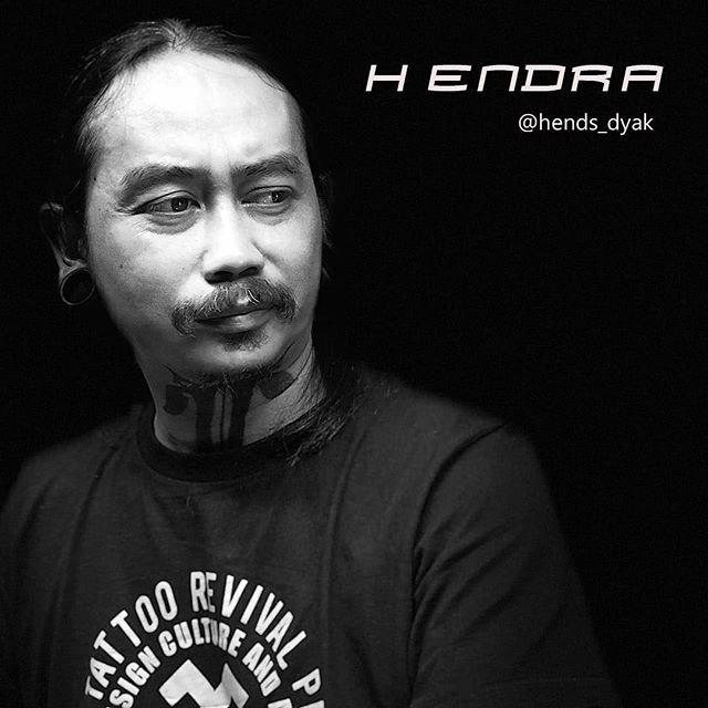 Hends Dyak tattoo artist headshot