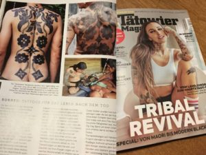 Click to buy - Tätowier Magazine with cover story Tribal Revival