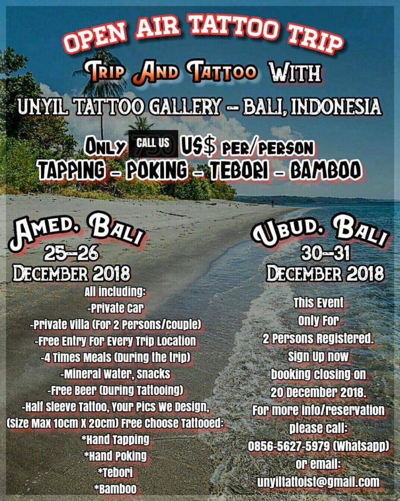 Bali Tours December 2018