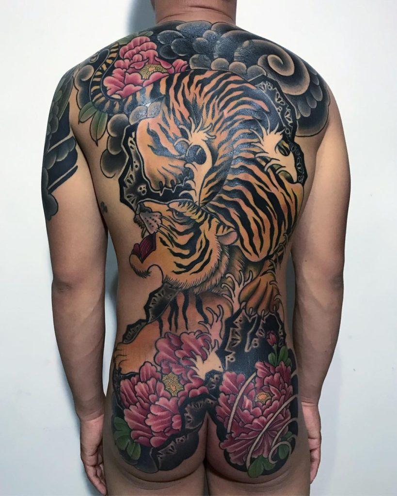 Tiger tattoo Andre Scriptura
